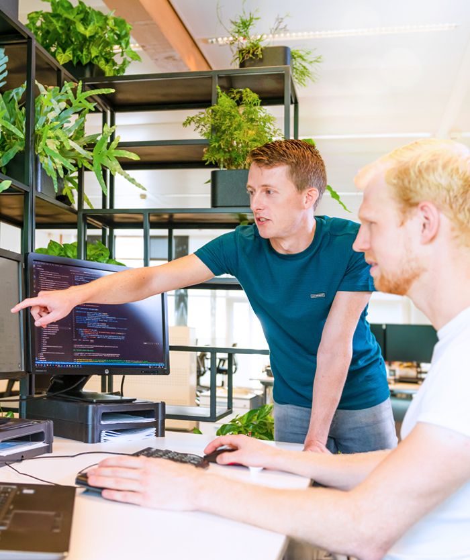 Priva R&D collega's aan het werk